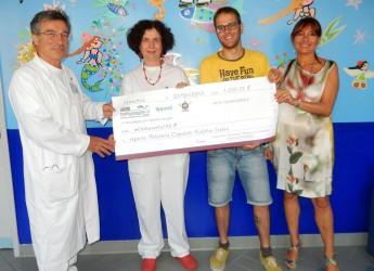 Cesena. Tippest e Coop Bagnini di Cesenatico hanno donato la somma di 1.200 euro a favore della pediatria dell'ospedale Bufanili.