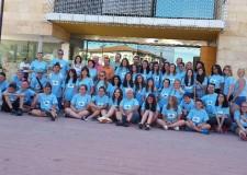 Faenza. Tre bandiere e una sola asta, un gruppo di ragazze faentine in Spagna con il progetto Erasmus.