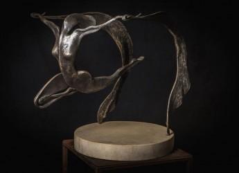 Gatteo. L'antica arte della forgiatura in mostra in biblioteca con 'Espressioni del ferro' dell'artista Davide Caprili.