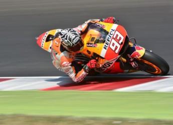 Misano Adriatico. Al circuito Marco Simoncelli i test di Ducati, Honda e Suzuki. Asfalto rovente per i protagonisti del motomondiale.