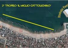 Cattolica. Per i 'giochi della legalità' il trofeo 'Il miglior cattolichino', percorso di 1.900 metri da fare a nuoto.