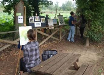 Lugo. Al Parco del Loto un'estemporanea d'arte all'insegna dell'impressionismo dal titolo 'Sarebbe piaciuto a Monet…'