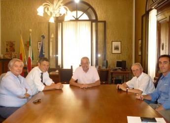Ravenna. Il nuovo rettore dell'ateneo di Bologna Francesco Ubertini è stato ricevuto dal sindaco Fabrizio Matteucci.