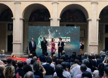 Roma. Premiati i ragazzi della generazione nata a cavallo del millennio in occasione del MYllennium Award al Chiostro del Bramante.