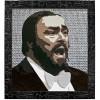 Expo 2015. Gerlando Colombo, un quadro pop art per ricordare Pavarotti. Nel cuore di Milano.