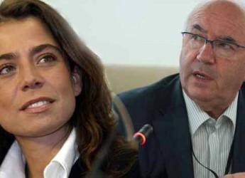 Roma. Calcio. Rosella Sensi (coordinatrice calcio femminile della Figc) ha ricevuto una delegazione dei presidenti delle società di calcio femminile.