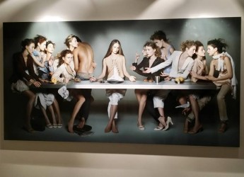 Milano. Apertura straordinaria anche al mattino per la mostra 'The last lastsupper_Leonardo' al Grattacielo Pirelli nell'ambito dell'Expo.