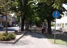 Santarcangelo. Il percorso ciclo pedonale di viale Marini sarà rifatto, a breve anche l'asfaltatura del tratto di fronte al municipio.