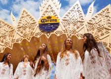 Rimini. Musica al tramonto in spiaggia con l'unica tappa italiana del tour globale Corona Sunset che sta toccando i più bei litorali di tutto il mondo.