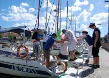 Bellaria Igea Marina. E' andata in scena l'iniziativa 'Veleggiando verso Luce sul Mare', ragazzi 'speciali' in gita sulle barche bellariesi.