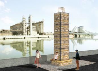 Ravenna. In occasione di 'Darsena open show' la presentazione dell'arredo urbano in banchina nel segno del riciclo creativo.