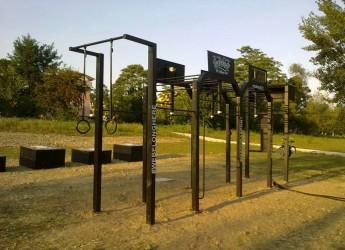 Rimini. Sport e benessere nella palestra a cielo aperto al Parco Marecchia. Una grande festa per provare diverse discipline sportive.