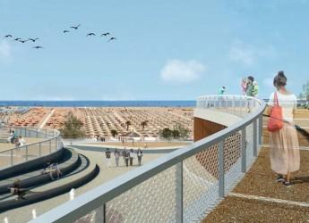 Rimini. In piazzale Kennedy un intervento centrale e strategico. L'area sarà trasformata in un belvedere sul mare con un nuovo presidio idraulico.
