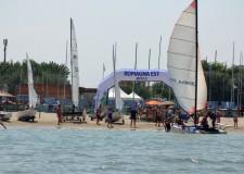 Bellaria Igea Marina. Vela che passione, in 200 al circolo velico Rio Pircio per la sesta edizione dell'open day per promuovere l'ebbrezza del vento.