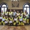 Ravenna. Consegnati i diplomi ai 18 volontari Mistral che hanno condotto il campo scuola 'Anch'io sono la Protezione Civile'.