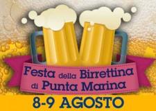 Ravenna. Punta Marina. Atmosfere da Oktoberfest di Monaco al parco pubblico con l'evento 'La festa della birrettina'.