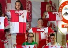 Rimini. Presentata la nuova squadra Femminile Rimini Calcio che disputerà il campionato di Serie D emiliano romagnolo.