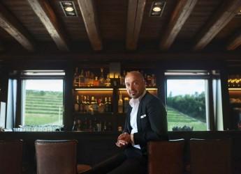 Ata Badia. Joe Bastianich ospite del rifugio Bioch con buona musica e i migliori vini targati Bastianich Winery.