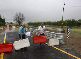 Cesena. Riaperto il ponte tra Sala e Bulgarnò sul Rigoncello dopo i danni provocati dal maltempo dell'estate 2014.