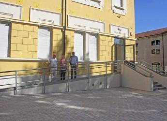 Cesena. Conclusi i lavori di miglioramento antisismico alla scuola primaria di Borello. Un intervento iniziato nell'estate 2014.