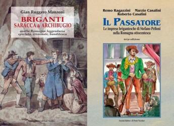 Cesena. I briganti in terra di Romagna, doppia presentazione di libri alla libreria 'Giunti al punto' in piazza Giovanni Paolo II.