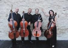 Cesenatico. Concerto serale di musica classica con i 'Kyknos Cello Quartet' in piazza delle Conserve.