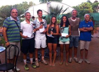Ravenna. Tennis. Michele Vianello e Camilla Ciani conquistano il primo trofeo 'Obiettivo casa' al circolo tennis Dario Zavaglia.