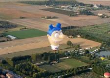 Ferrara. Simulatore di volo dell'Aeronautica Militare tra i protagonisti del Ferrara Balloons Festival.