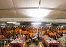 Forlì. Borgo Sisa. Grandi numeri per la 36ma edizione della Festa de l'Unità. Ventimila le presenze e 14 quintali di pasta fresca.
