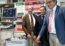 Rimini. Inaugurato oggi all'ospedale Infermi l'ecocardiografo donato dall'Ascor. La donazione di una benemerita cittadina ha dato il via alla raccolta fondi.