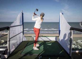Riccione. Quaranta golfisti si sono sfidati a piazzare il colpo perfetto al primo Riccione Golf Challenge.