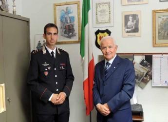 Lugo. Visita all'Unuci di Giuseppe Talamo, nuovo comandante della compagnia cittadina dei carabinieri.
