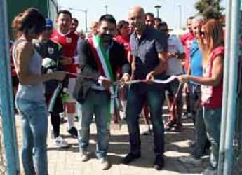 Lugo. Inaugurato il nuovo campo polifunzionale al circolo tennis 'Adriano Guerrini'. Un impianto unico nel territorio.
