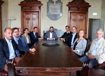 Unione Bassa Romagna. Il nuovo comandante dei Carabinieri di Lugo, Giuseppe Talamo, ha incontrato la giunta.