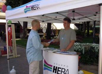 Conselice. Ambiente. Al mercato cittadino l'info point di Hera per fornire informazioni sulla differenziata.