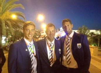 San Marino. Beach Volley. E' iniziata l'avventura dei duo sammarinese Benvenuti – Zonzini alla prima edizione dei Mediterranean Beach Games a Pescara.