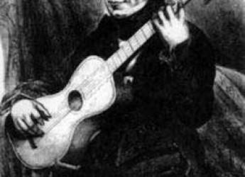 Ravenna. Inaugurazione di Piazzetta Luigi Legnani, chitarrista e compositore che morì nel 1877.