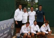 Marina di Ravenna. Tennis. Il Marina Sport Center conquista una meritata promozione nel campionato di serie C maschile.