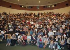 Ravenna. Il vicesindaco Giannantonio Mingozzi ha salutato le 186 matricole del liceo artistico Nervi Severini.