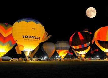 Ferrara. Al via il Ferrara Balloons Festival, la più importante manifestazione dedicata alle mongolfiere in Italia.