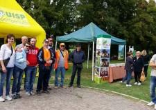 Lugo. In occasione di 'Puliamo il mondo', volontari all'opera per ripulire il parco del Loto.