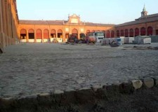 Lugo. Proseguono i lavori di riqualificazione del piazzale del Pavaglione. Durante gli scavi scoperte tracce della storia della città.