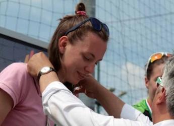 Rimini. Un fine settimana da incorniciare per la TDSGRRimini a Pescara. Sara Papais vince l'oro ai Mediterranean Beach Games.