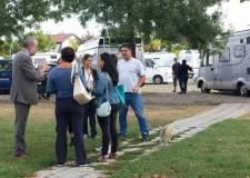 Ravenna. Il sindaco Matteucci: 'La situazione del parcheggio della Basilica di Classe è tornata alla normalità'.