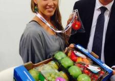 Rimini. MacFrut. La tuffatrice tricolore Tania Cagnotto protagonista assoluta. Siglato l'accordo sull'asse Cesena-Madrid.