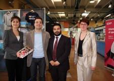 Lugo. Visita del sindaco Ranalli all'Utensileria Lughese nell'ambito del progetto 'Impresa comune'.