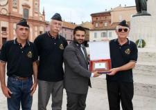 Lugo. Gradita visita in città di una delegazione dell'associazione Arma Aeronautica. Visita al Museo 'Francesco Baracca'.