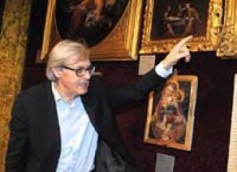 Faenza. Vittorio Sgarbi alla Pinacoteca comunale per una conferenza sul tema: La mostra Il Tesoro d'Italia all'Expo di Milano