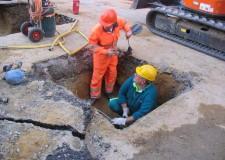 Lugo. Conclusi i lavori di riparazione della condotta idrica che si era rotta ieri mattina. Servizio idrico garantito, anche se limitato e lento.