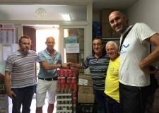 Santarcangelo. 'Camminata sotto le stelle' ha donato generi alimentari per 4mila euro alla Caritas.